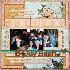 Birthday Bash-Webster's