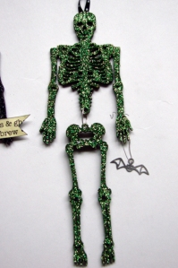 green skeleton
