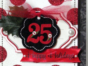 25 Happy Holidays detail