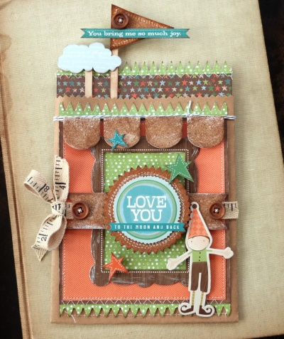 AudreyPettit LYB Fern Boy Love You Gift Bag