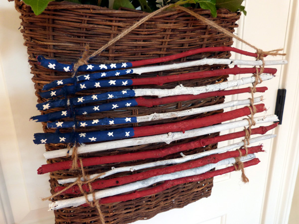Rustic american flag decor audrey pettit designs for American flag decoration
