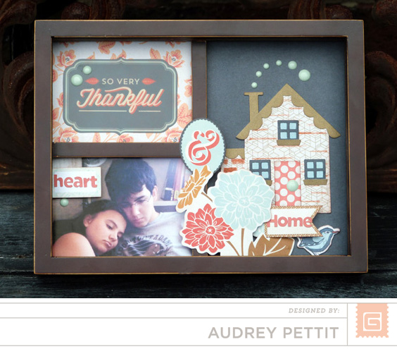 AudreyPettit BG Persimmon Heart&HomeFrame