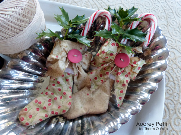 AudreyPettit Thermoweb BlendFabric ChristmasStockings