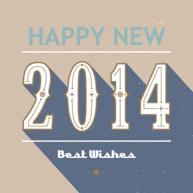 happy-new-year-2014---retro-card_894136