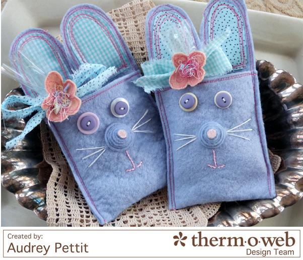 AudreyPettit Thermoweb EasterBunnyTreats