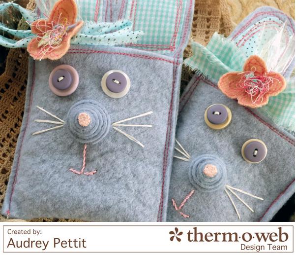 AudreyPettit Thermoweb EasterBunnyTreats4