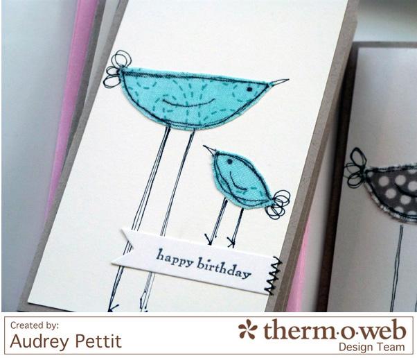 AudreyPettit Thermoweb iCraftBirdNotecards2