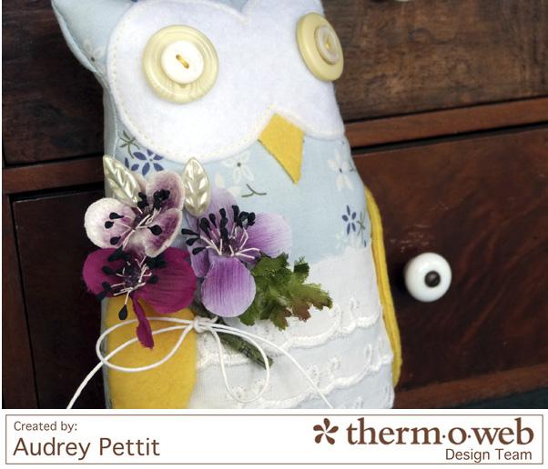 AudreyPettit Thermoweb NoSewBookOwl4
