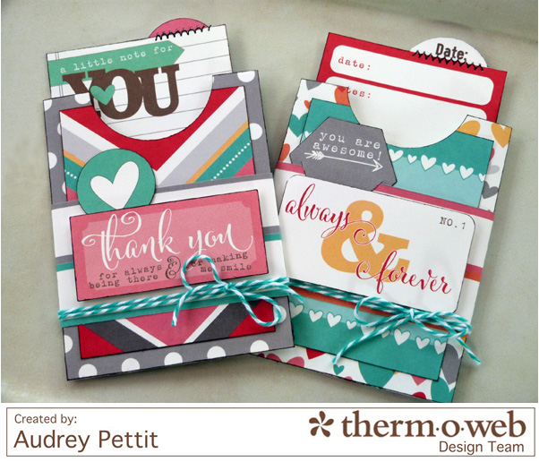 AudreyPettit Thermoweb Elle'sStudio Pocket Tags2
