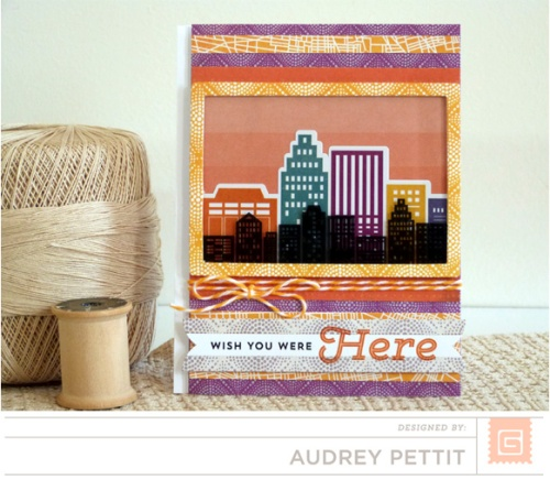 Wish You Were Here card by Audrey Pettit | BasicGrey Second City