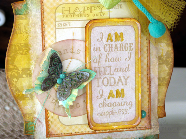 Choosing Happiness Art Plaque | Audrey Pettit