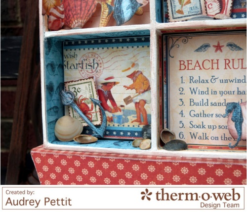 AudreyPettit Thermoweb ByTheSeaCollage4