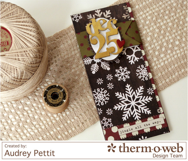 AudreyPettit Thermoweb SimpleStories Dec25MoneyHolder