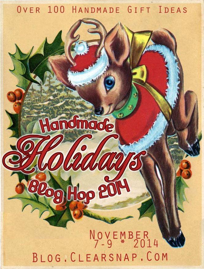 Handmade Holidays Blog Hop Logo