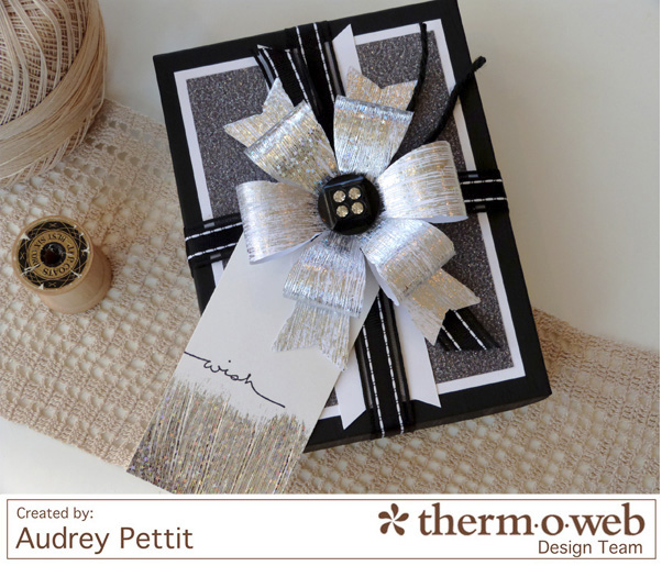 AudreyPettit Thermoweb DecoFoil WishGiftBox