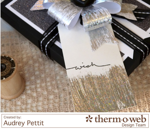 AudreyPettit Thermoweb DecoFoil WishGiftBox3