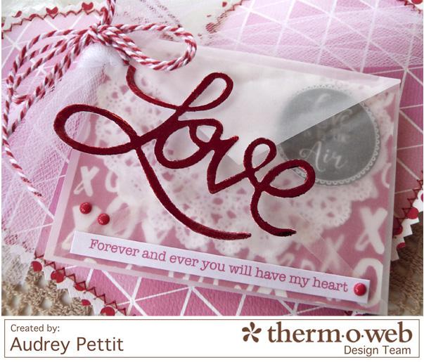 AudreyPettit Thermoweb DecoFoil LoveValentinePillow4