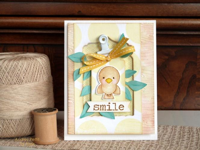 AudreyPettit Sizzix SmileCard