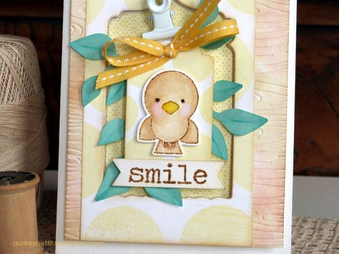 AudreyPettit Sizzix SmileCard2