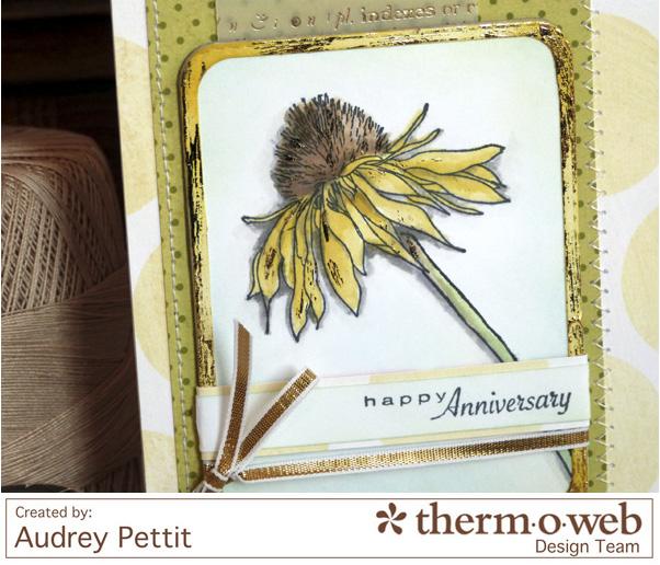 AudreyPettit Thermoweb HappyAnniversaryCard3