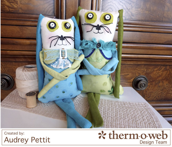 AudreyPettit Thermoweb DecoFoilBunnyPair