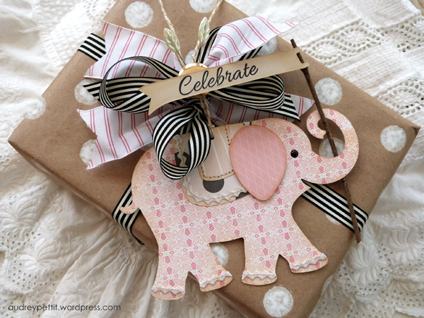 AudreyPettit Sizzix CelebrateElephantTag