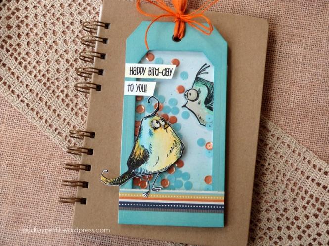 AudreyPettit Sizzix BirdCrazyBirdDayTag