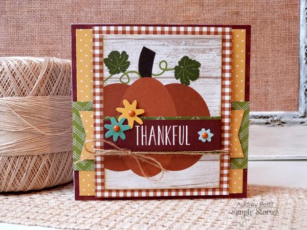 AudreyPettit PumpkinSpice ThankfulCard
