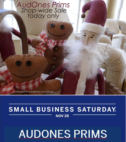 AudOnes ShopSmallSaturday2015 preview