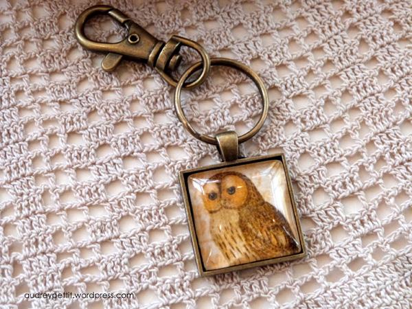 AudreyPettit-Nestled-OwlKeyring