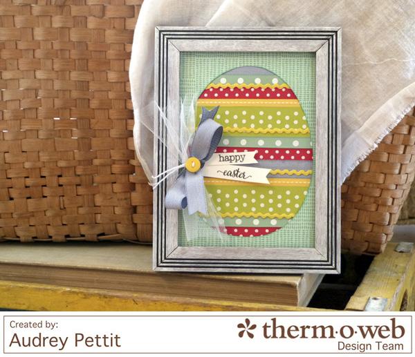 AudreyPettit Thermoweb EasterEggFrame
