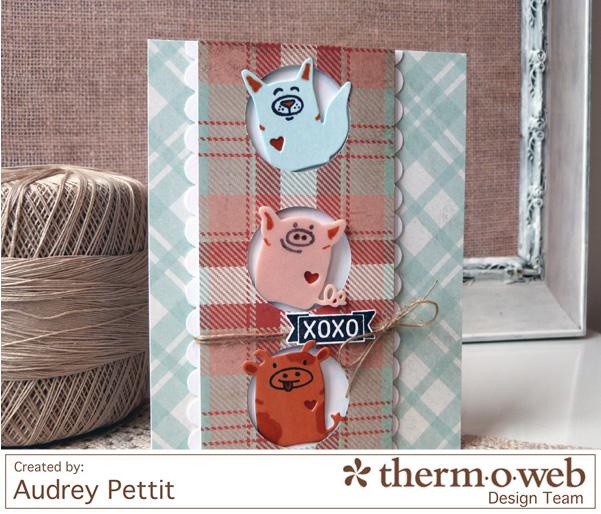 AudreyPettit Thermoweb XOXOCard2