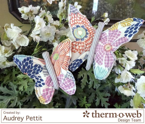 AudreyPettit Thermoweb DearStella ButterflyClips