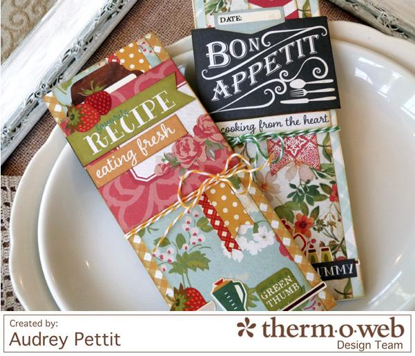 AudreyPettit Thermoweb BonAppetitMemoPads2