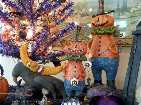 Halloween sunroom – Audrey Pettit Designs