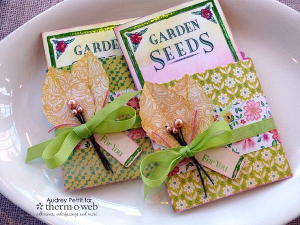 audreypettit-thermoweb-decofoil-gardenseedspockets